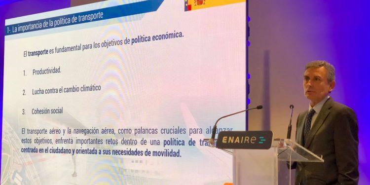 Pedro Saura, secretario de Estado y presidente de ENAIRE