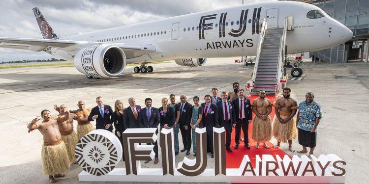 Primer A350-900 entrregado a Fiji Airways