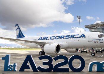El A320neo de Air Corsica