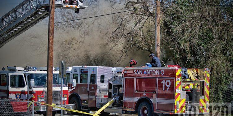 Bomberos de San Antonio