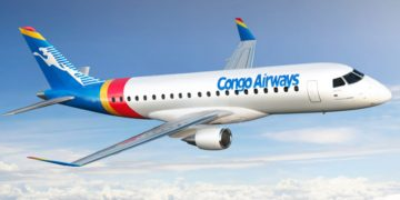 Congo Air y Embraer
