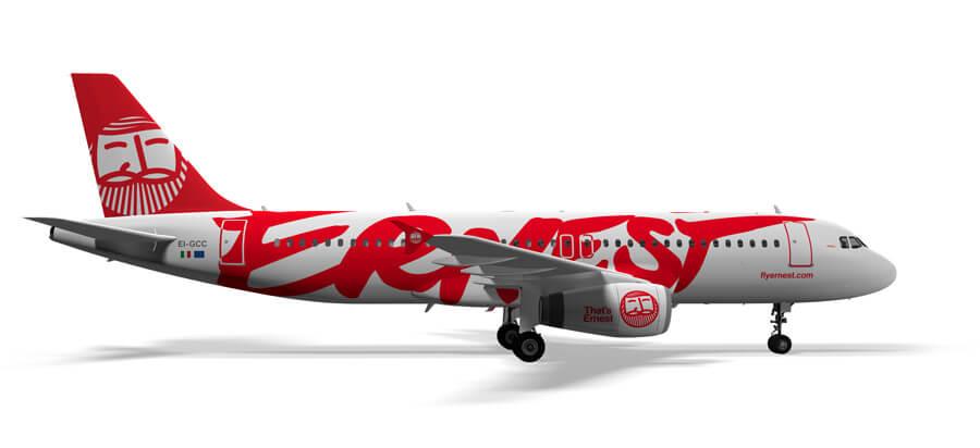 Resultado de imagen para ernest Airlines png