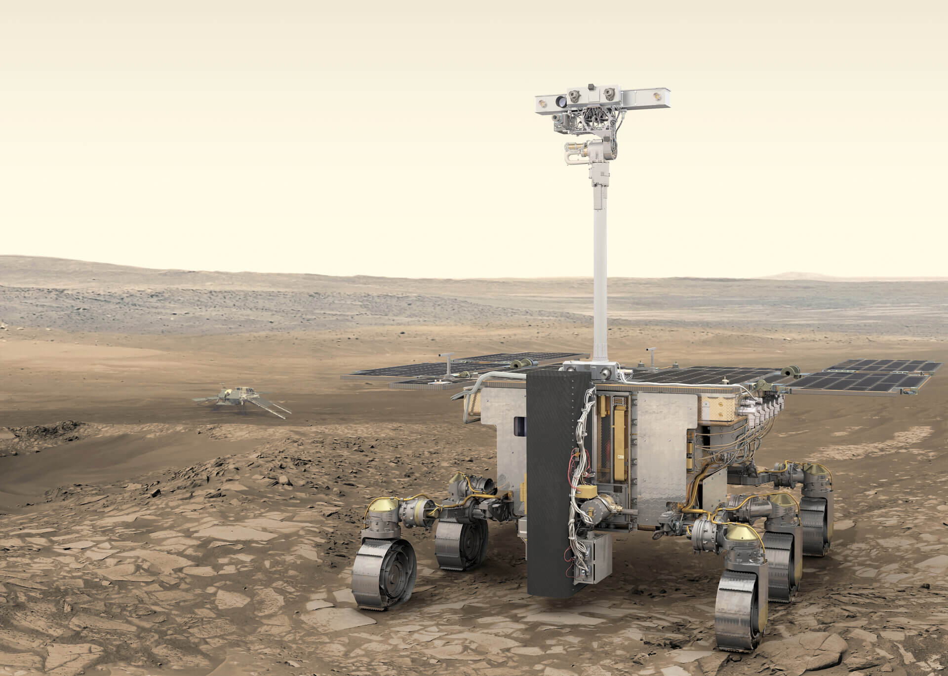 La ESA pospone la misión ExoMars hasta 2022