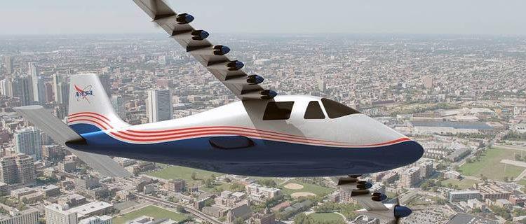 La Nasa Publica Imagenes De Su Avion Maxwell X 57 Totalmente