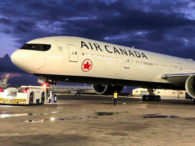 Air Canada receives funding of $ 5.879 billion from the Canadian government