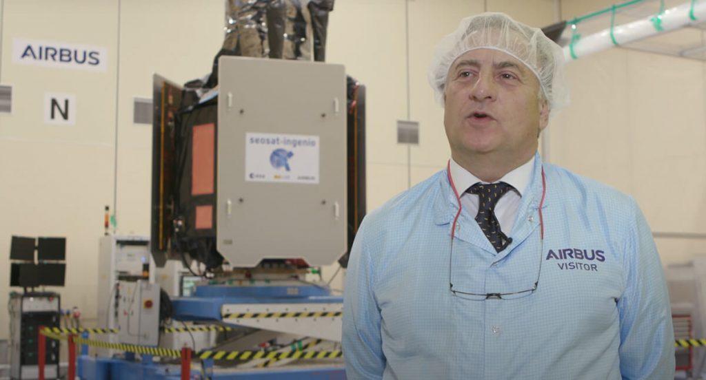 Airbus, contratista principal del satélite Seosat-Ingenio