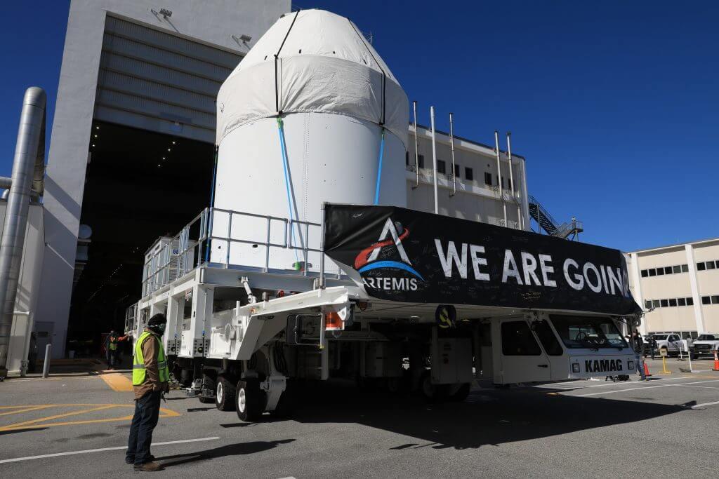 Crece la producción de naves espaciales Orion para la futura misiones Artemisa