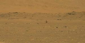 El ingenuity vuela por primera vez en Marte