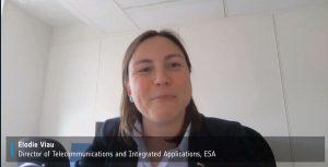 Elodie Viau, de la ESA
