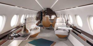 Interior del Falcon 10X