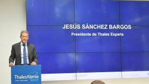Jesús Sánchez, presidente de Thales España